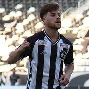 Promessa do sub-20, Marlon chegou ao Botafogo como presente de aniversário e se espelha em Neymar e Rhuan: 'Minha referência'