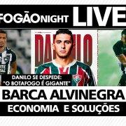 LIVE | Danilo Barcelos surpreende e acerta com Fluminense; barca alivia folha salarial do Botafogo