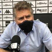 Autuori explica alterações de Caio Alexandre e Honda no Botafogo: 'Achei que não estavam rendendo'
