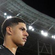 Botafogo: venda de Luis Henrique pode significar metade de meta orçamentária