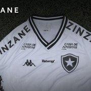 Botafogo confirma patrocínio da Zinzane e Rotenberg exalta; veja como fica a camisa