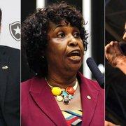Três dos candidatos a prefeito no Rio de Janeiro são torcedores do Botafogo