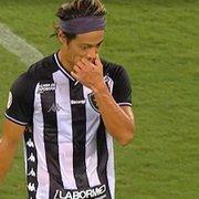 Comentaristas estranham alterações de Autuori no 1º tempo e veem 'falta de intensidade' em Honda no Botafogo