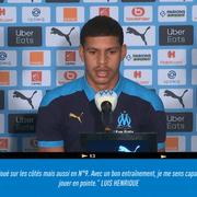 Ex-Botafogo, Luis Henrique é apresentado à imprensa francesa e explica escolha pelo Olympique: 'Tive outras sondagens'