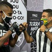 Kalou, do Botafogo, revela sonho de ir a evento do UFC e diz que pode fazer treino de MMA
