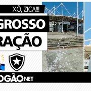 Sal grosso e oração para Nilton Santos: torcedores do Botafogo fazem ritual antes de clássicos contra o Vasco