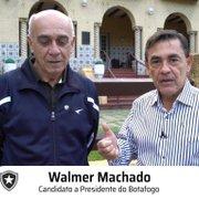 Walmer Machado: 'Botafogo S/A deles faliu. Sou a favor de gestão compartilhada'