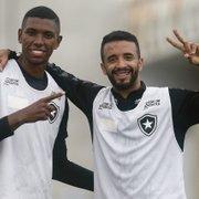 Kanu, do Botafogo, relembra treinos em corredor e se despede de Caio Alexandre: 'Todo o seu mérito'