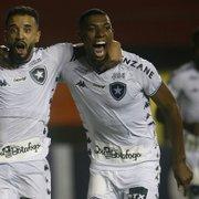 A Baixada é fogo! Melhores amigos, Caio Alexandre e Kanu viram protagonistas do Botafogo