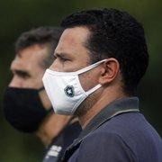 Botafogo: Túlio Lustosa foi contra demissão de Lazaroni, avisada a ele em intervalo de jogo