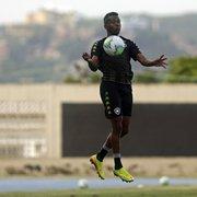Recuperado, Kelvin treina sem limitações e não deve ser problema no Botafogo contra o Cuiabá