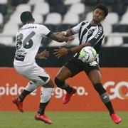 Botafogo reencontra jogadores de velocidade, e Tenius ganha opções para decisão