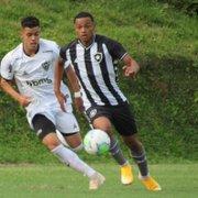 Base: Com gol de boliviano, Botafogo empata com Atlético-MG na volta do Brasileiro Sub-17