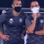 Ex-auxiliar do Botafogo se diz triste com queda, mas lembra: 'Trabalho interrompido com 6 jogos'