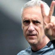 Flavio Tenius será técnico interino do Botafogo contra o Ceará, com Lucio Flavio de auxiliar