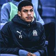 Ex-Botafogo, Luis Henrique é relacionado e fica no banco em empate do Olympique