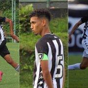 Com Matheus Nascimento, Botafogo tem 3 convocados para Seleção Brasileira sub-17