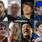 Enquete: quem deve substituir Bruno Lazaroni como técnico do Botafogo? Vote!