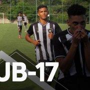 VÍDEO: bastidores de vitória do Botafogo sobre o América-MG no Brasileiro Sub-17