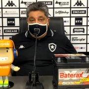 Botafogo irá novamente à CBF após mais um erro da arbitragem: 'Critérios têm de ser melhor explicados'