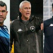Com três interinos, Botafogo jogou dois meses fora sem técnico em 2020