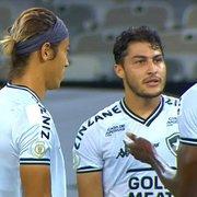 Derrota faz Botafogo ter 82% de risco de rebaixamento no Brasileirão