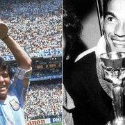 No adeus a Maradona, Jairzinho critica imprensa por esquecerem Garrincha, ídolo do Botafogo: 'Não valorizam até hoje'
