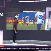 Analistas divergem sobre pênalti em Bahia x Botafogo; PC Oliveira aprova marcação: 'Eu discordo da regra'