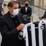 Marcos Leite se despede de comissão técnica de Ramón Díaz, ex-Botafogo: 'Máximo respeito'