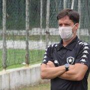 Gerente da base do Botafogo promete novidades em breve: 'Ações que nos ajudarão em um futuro bem próximo'
