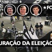 VÍDEO! Veja a apuração de votos para definição do novo presidente do Botafogo
