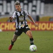 Botafogo tem nove jogadores com contrato até dezembro; Honda prorroga vínculo