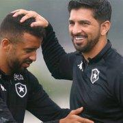 Emiliano Díaz destaca jogador que mais chamou sua atenção na curta passagem pelo Botafogo e faz elogios
