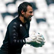 Lesionado, Diego Cavalieri completa mais de seis meses sem jogar pelo Botafogo