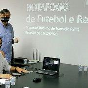 Coordenador do Grupo de Transição do Botafogo explica trabalho; contratação de Altamiro já foi recomendação