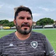 Barroca admite desequilíbrio nas competições internas do Botafogo: 'Marcelo e Kanu eram os reservas ano passado'