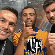 Ex-Botafogo, Juninho brinca com Rafael Carioca: 'Vou levar para o Fogão também'