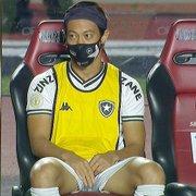 Caio Ribeiro: 'Acho que Honda está errado em sair do Botafogo. Assume a bronca e fica até o final'