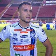 Bobeou… Ex-Botafogo, Renan Gorne decide vitória para o Confiança, que se aproxima do G-4 da Série B