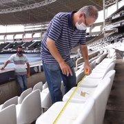 Com apoio da Centrum, Botafogo recebe infectologista para adequar Estádio Nilton Santos à volta do público
