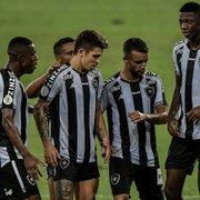 Botafogo terá reforços contra o Santos pelo Brasileirão domingo