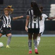 Futebol feminino: Amanda alerta para Botafogo corrigir erros e se impor diante do Bahia na semifinal do Brasileiro A2