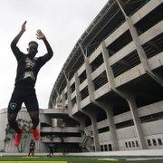 Iván Angulo, Guilherme Santos e Lucas Barros fazem trabalho de transição no Botafogo