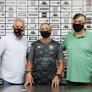 Presidente do Botafogo lamenta decisão de Altamiro Bottino e nega rusgas: 'Saiu pela porta da frente'