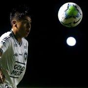 Lecaros tenta superar estigma de 'jogador de segundo tempo' no Botafogo