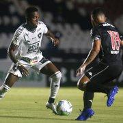 Na disputa com Lecaros, Kelvin é o provável titular do Botafogo contra o Santos
