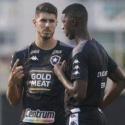 Botafogo deve ter Matheus Babi e Pedro Raul na frente contra o Santos; Lecaros e Kelvin disputam vaga