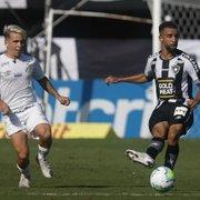 ATUAÇÕES FN: Diego, Caio Alexandre e José Welison são os melhores no Botafogo em derrota para o Santos; Kelvin e Cascardo muito mal