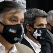 Botafogo: Durcesio e Freeland se reúnem por três horas com executivos da CBF