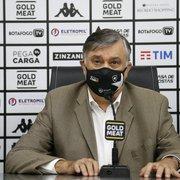 Durcesio fala sobre Felipe Ferreira e explica reação dos jogadores do Botafogo em Natal